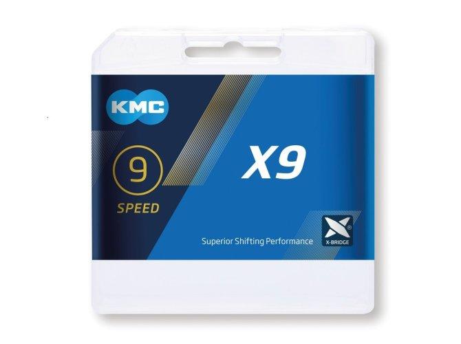 KMC lanac X9 Gray 9-brzina
