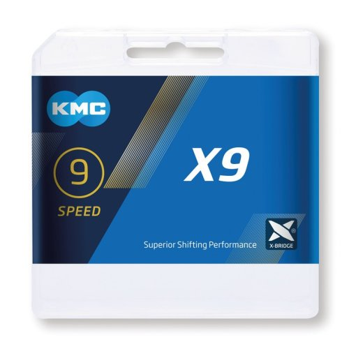 KMC lanac X9 Silver/Grey 9-nrzina